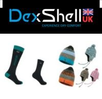 dexshell waterproof socks and hats